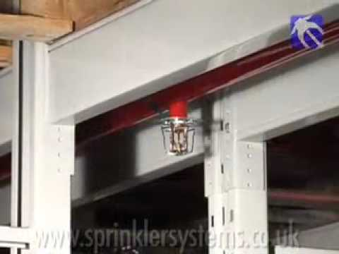Fire Protection Systems Rack Sprinklers Youtube