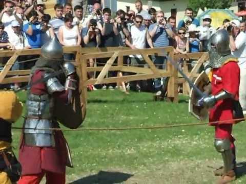 Денний бій лицарів у номінації Один на один 1