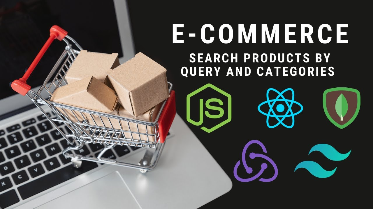 Search Products by query&categories Ecommerce MERN(MongoDB Express.js React.js Node) Redux