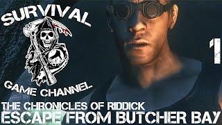 The Chronicles Of Riddick Escape From Butcher Bay Прохождение На Русском 1 БУХТА МЯСНИКА