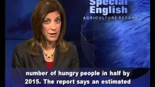 VOA learning English 2015 Part 5-Agriculture Report-Luyện Nghe Tiếng Anh Qua Tin Tức VOA