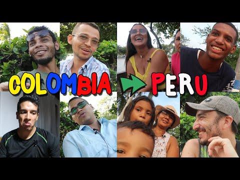 Que DICEN En COLOMBIA De PERU Y Los PERUANOS. Miran PATACLAUN 🤡