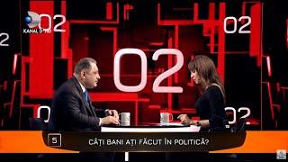 40 de intrebari cu Denise Rifai - Marian Vanghelie, adevarul despre cati bani a facut din politica