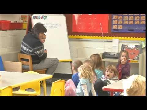 Classroom Salute- Mrs. Jarvie's Pre-Kindergarten at Rudyard Area Schools