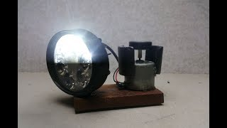 Free energy with magnets & DC motor - Science project experiment at home