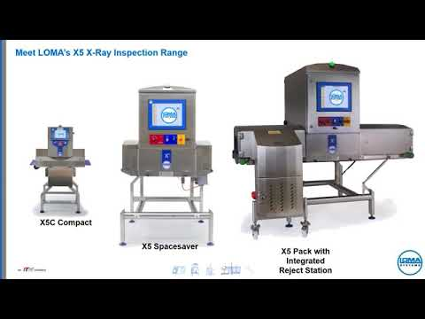 LOMA X Ray Machines for Food Packaging