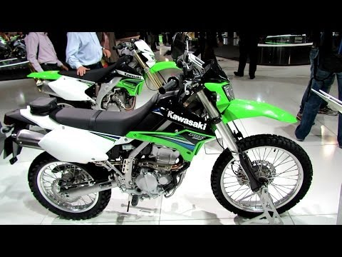 2014 Kawasaki KLX250 Enduro Walkaround - 2013 EICMA Milano Motorcycle Exhibition