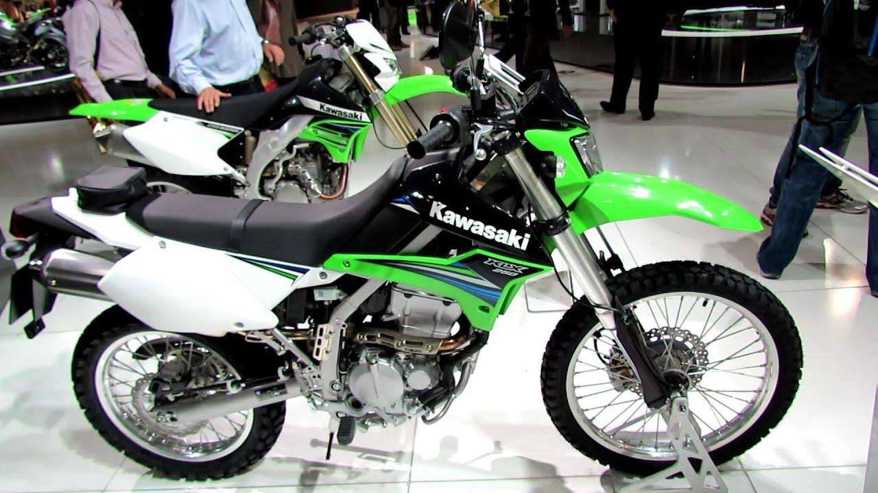 2014 Kawasaki KLX250 Enduro Walkaround - 2013 EICMA Milano ...