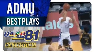UAAP 81 MB: Will Navarro spins, overpowers defender for easy two   ADMU   Best Plays