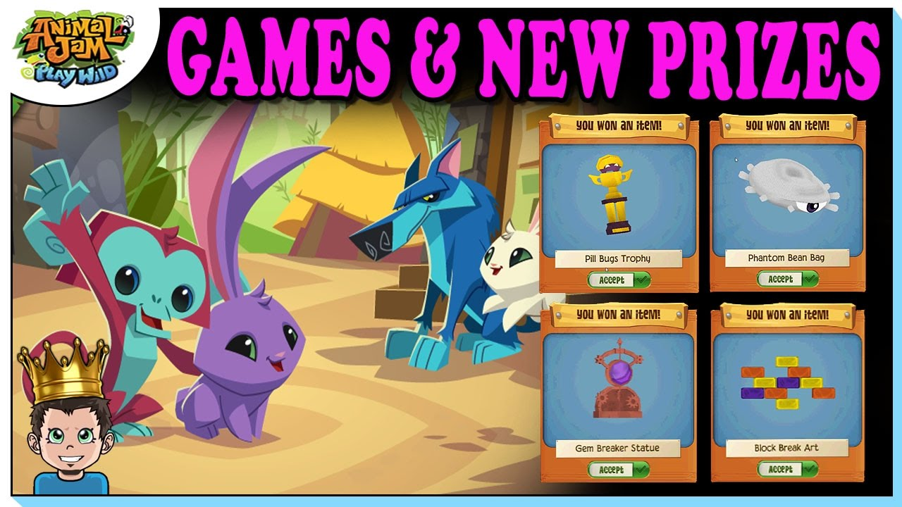 Animal jam games that give you prizes for students