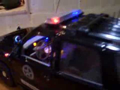 1 18 us marshal police suv lights and siren youtube. Black Bedroom Furniture Sets. Home Design Ideas
