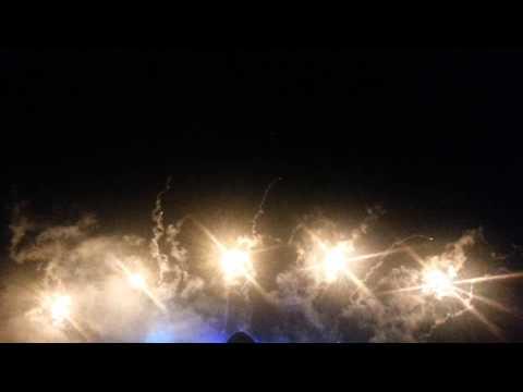 Alton Towers Fireworks 08.11.2014