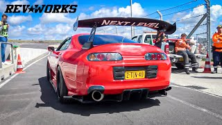 Modified JDM Car Madness! : Revs, 2-Step & Anti-Lag (RevWorks squad at JapFest)