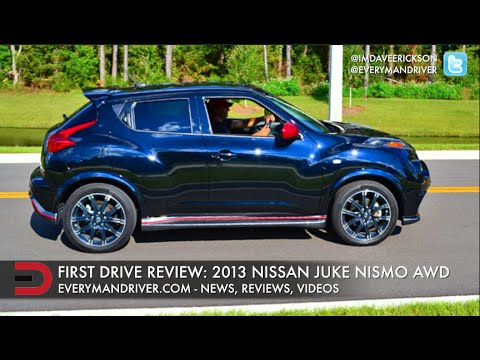 Here S The 2013 Nissan Juke Nismo Awd On Everyman Driver Youtube