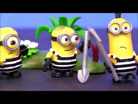 Лего миньоны мультфильм