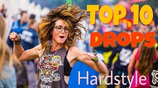 Top 10 Drops That Will Shakes Your House Hardstyle With Download Link