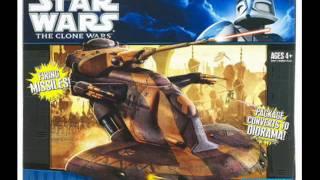 Star Wars Previews 7/29/10 Clone Wars Wave 3, Vintage Wave 3 & Vehicles!