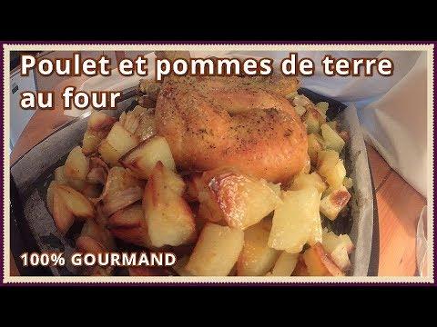 poulet-et-pommes-de-terre-au-four