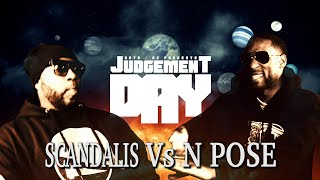 KOTD - Rap Battle - Scandalis vs N Pose | #GZ