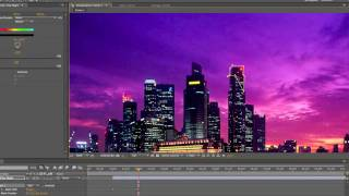 After Effects: How To: Blackout a Major City (lose power)