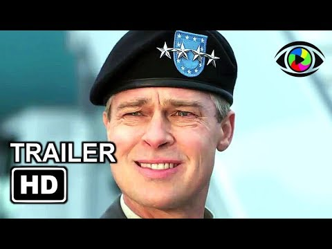 WAR MACHINE  3 2017  Brad Pitt, Anthony Hayes, John Magaro