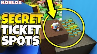 ALL NEW *SECRET* TICKET AND JELLY LOCATIONS IN NEW UPDATE (Roblox Bee Swarm Simulator Secrets)