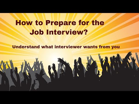 Best Video on How to Prepare for a Job interview - read Job Description