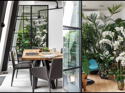 Project Two level apartment in Moscow