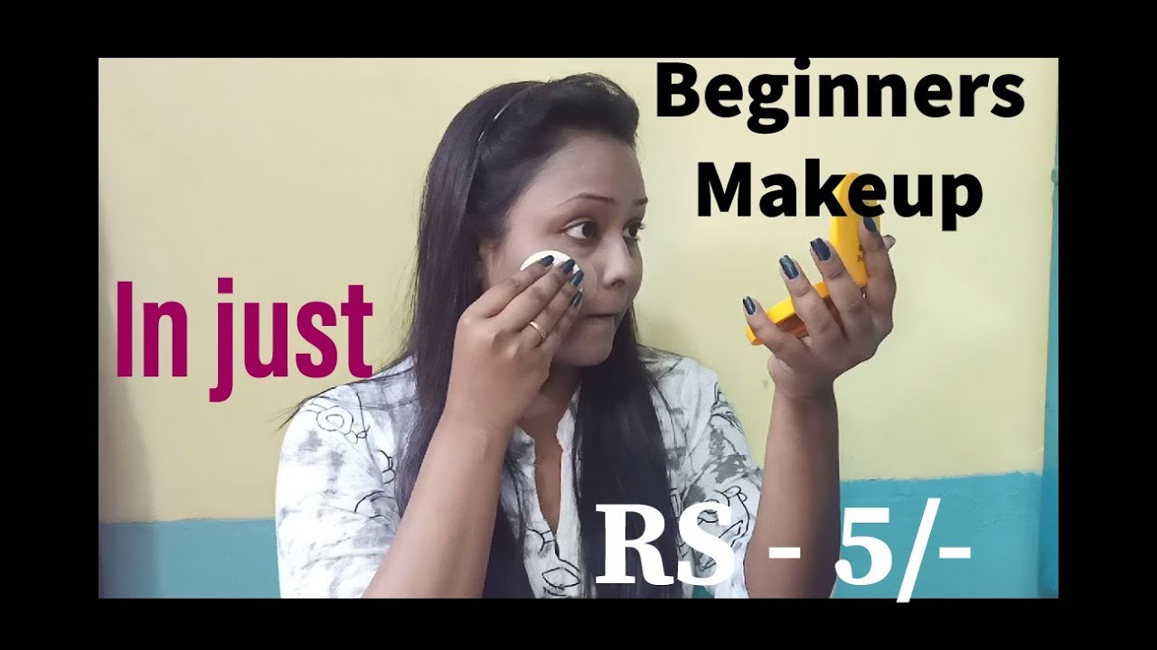 Makeup for beginners in just RS - 5