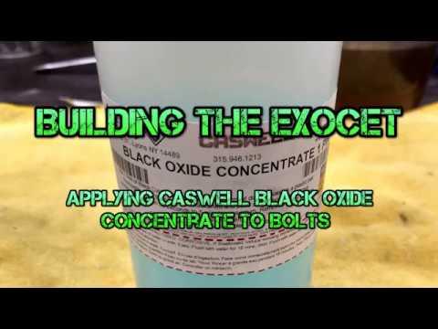 Applying Caswell Black Oxide Coating