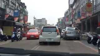 從車內看台南~新化老街 吉野村現烤蛋糕 所長茶葉蛋
