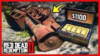 Быстрые деньги в Red Dead Redemption 2. Где найти золотой слиток в RDR2