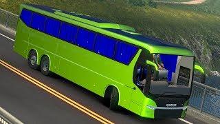 Scania Metrolink Bus MOD [ETS2 BUS MOD]