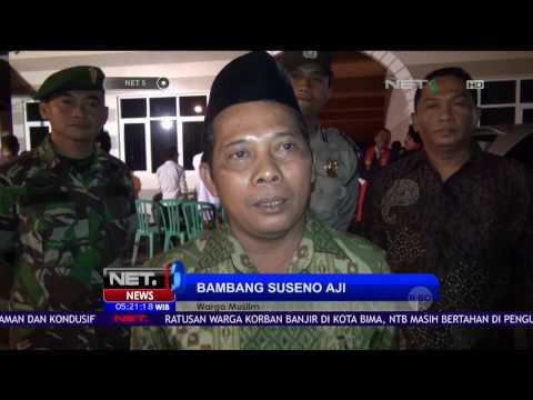 Puluhan Warga Muslim Surabaya Ikut Jaga Keamanan Perayaan Natal - NET5