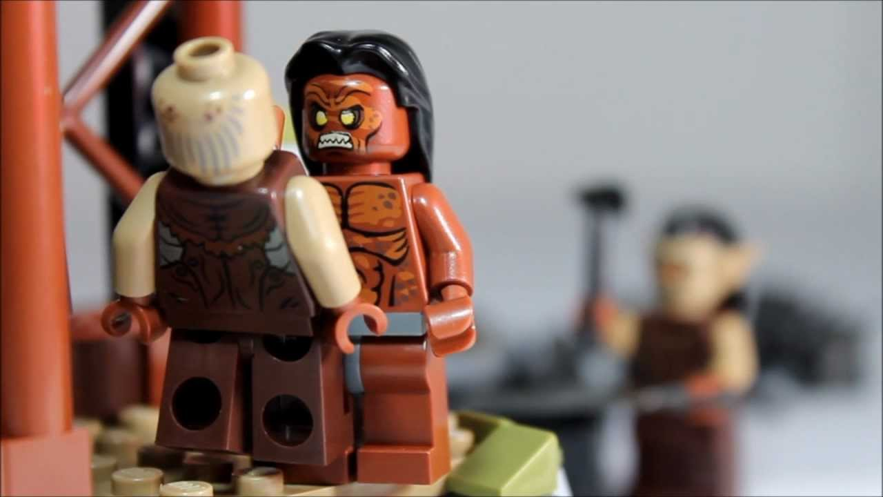 LEGO Lord Of The Rings The Orc Forge 9476