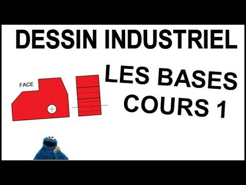 dessin industriel cours 1 les bases youtube. Black Bedroom Furniture Sets. Home Design Ideas