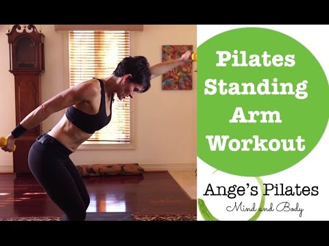 Pilates 12 Minute Standing Arm Series