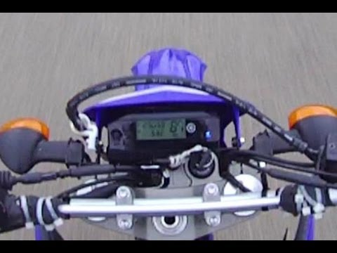 Top Speed Run 87 MPH - 2012 Yamaha Dual Sport WR250R - YouTube