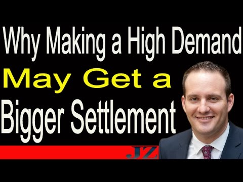 Why Making a High Demand May Get a Bigger Settlement
