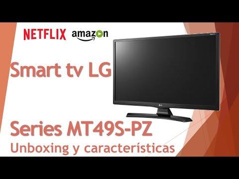 SMART TV LG MT49S UNBOXING