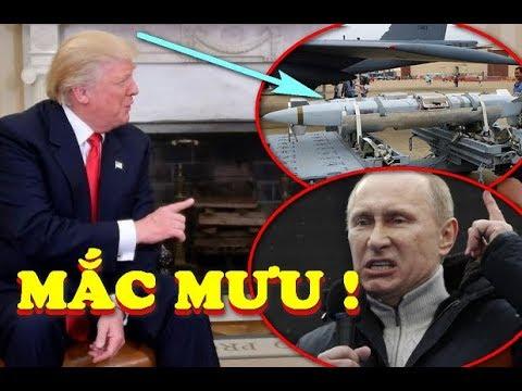 Mỹ LỪA Nga và Syria thu nhặt 2 tên lửa hành trình GIẢ MẠO