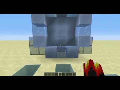 Ice Cave Portal in Minecraft