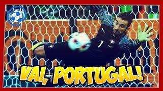 Polônia (3) 1 x 1 (5) Portugal - narração: Nuno Matos e Alexandre Afonso - Euro 2016