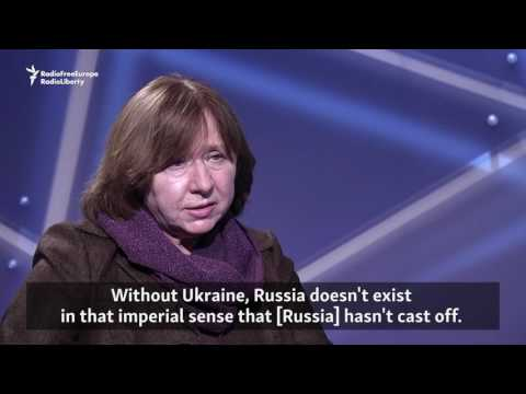 Nobel Prize Laureate Alexievich Baffled By Putin's Actions In Syria