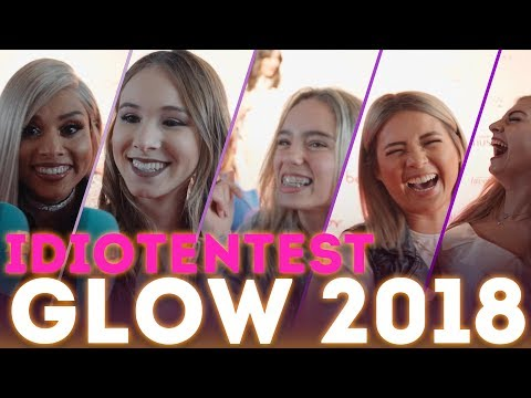 Fußball-Fragen an Beauty-Damen / GLOW 2018 / mit Lisa&Lena, Anna Valentina, Anika Teller, Nhi
