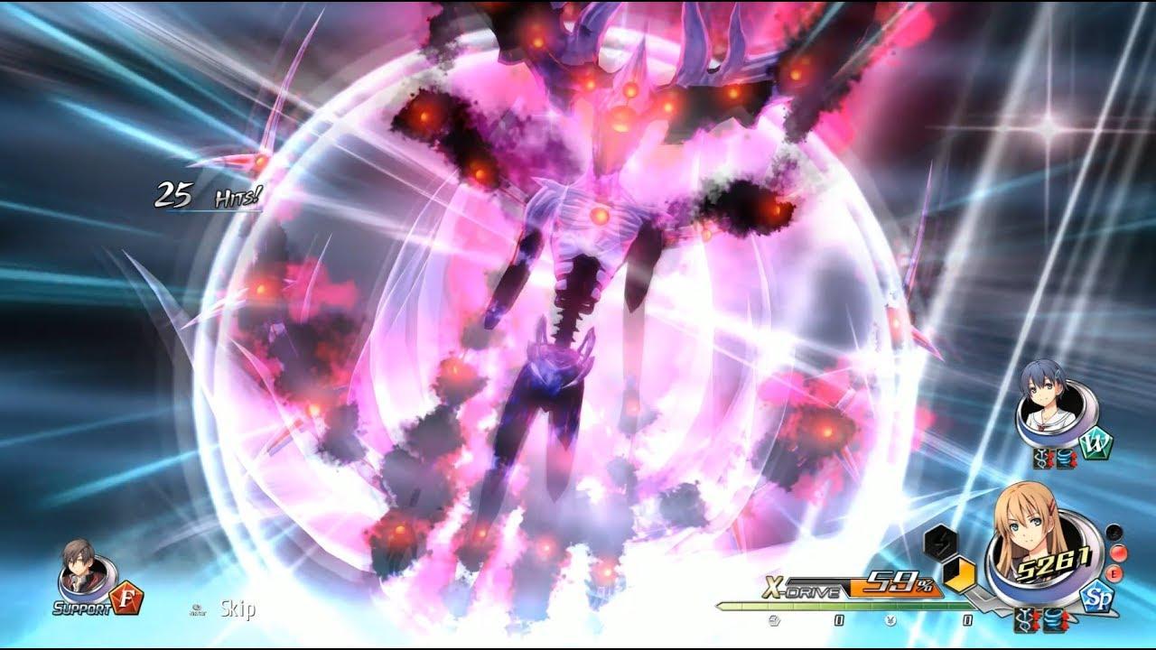 Tokyo Xanadu eX+ Shadow of Twilight CALAMITY boss battle
