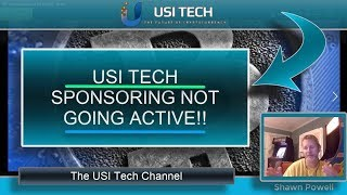 USI TECH SPONSORING - SPONSORED NOT GOING ACTIVE IN USI TECH!
