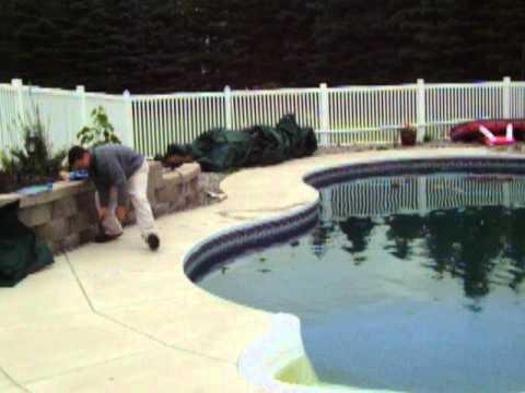 How To Winterize Inground Pool Plumbing Youtube