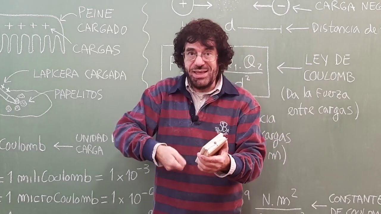 Download Electrostática (TEORÍA Ley de Coulomb) | Biofísica CBC | Física En Segundos (por Aníbal)