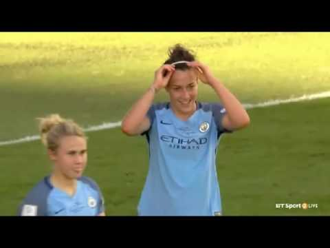 Lucy Bronze | Man City 1-0 B'ham City - 2016 Continental Cup Final | Player Of The Match
